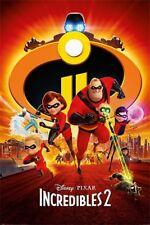 Incredibles 2 II - One Sheet POSTER 61x91cm NEW Elastigir Jack-Jack Violet Dash