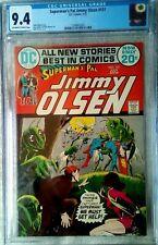 Superman's Pal JIMMY OLSEN #151 CGC 9.4 OW-W, 1972 Oksner sci-fi c
