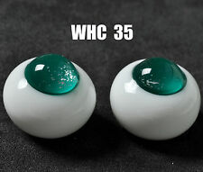 18Mm Special Blue-Green No Pupil Glass Bjd Eyes for Dod Dz Aod Volks luts