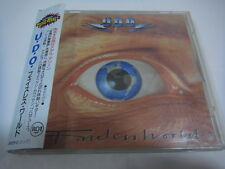 U.D.O.-Faceless World JAPAN 1st.Press w/OBI Accept Scorpions Udo Dirkschneider