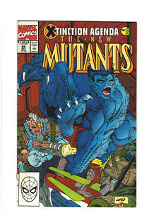 New Mutants #96 VF 8.0 Marvel Comics X-Tinction Agenda pt.5 Cable,Rob Liefeld