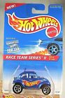 1996 Vintage Hot Wheels #393 Race Team Series II 2/4 BAJA BUG Blue w/Chrome 5 Sp