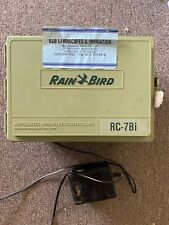 New listing Rain Bird Rc-7Bi Irrigation Controller Water Timer Station Automatic Sprinkler