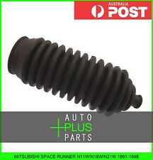 Fits MITSUBISHI SPACE RUNNER N11W/N18W/N21W 1991-1998 Steering Rack Boot Rubber