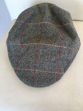 Austin Reed Flat Cap Tweed 100% Wool Size L