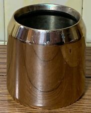 """Paschal Candle 3"""" Follower - 3"""" Brass Candle Follower - Used"""