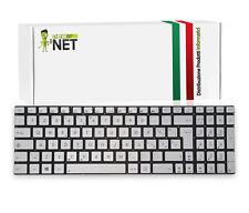 Tastiera ITA compatibile con Asus N550JK N550JV N550LF RETROILLUMINATA SILVER