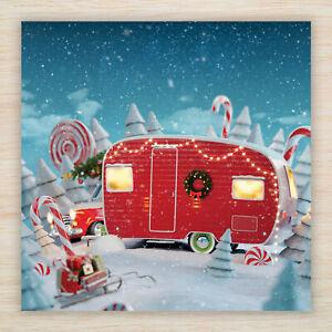 """Christmas Cards & Packs - """"Magical Caravan"""" Enchanting Fairytale Santa's Elves"""