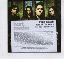 (HL717) Papa Roach, Kick In The Teeth - 2010 DJ CD