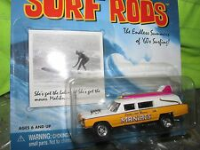 cadillac hearse ambulance surf rods maniacs santa monica 1/64 Johnny LIGHTNING