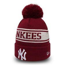 New Era MLB Bobble New York Yankees Saisonnier Jake Sport Tricot Ligne Bonnet