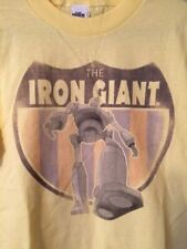 The Iron Giant Yellow T-shirt Out of Print Officially Licensed Product