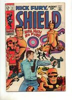 Nick Fury Agent of SHIELD #12 BARRY SMITH CLASSIC COVER 1969 MARVEL Pre Conan #1