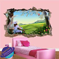 Spring Blossom Uova di Pasqua 3d Adesivo Parete rotte Room Decor Decalcomania Murale yv6