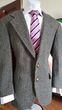 Harris Tweed Vtg Scottish Wool Two Button Men's Sport Coat Blazer sz 40 R