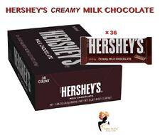 Hershey's Creamy Milk Chocolate American  43 g x 36 Bars FULL BOX Case Gift