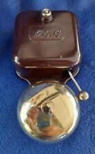 More details for vintage old original electric gec bakelite nickel / brass door alarm butler bell