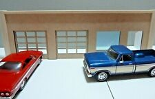 1/24 SCALE DIORAMA GAS STATION/STORE OPENING DOORS  UNFINISHED AD YOUR TOUCH