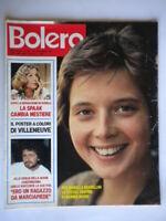Bolero1691 Rossellini Spaak Schroder Vanoni Savalas Mangano Villeneuve Hayward