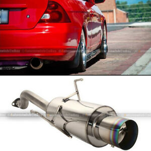 BianchiPatricia Straight And Bend General Auto Exhaust Pipe Decorative Modified Muffler Damper