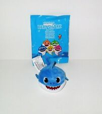 BABY SHARK MINI PLUSH BLUE SHARK SINGLE LOOSE WITH WRAPPER
