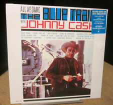 rare 3000 made JOHNNY CASH all aboard blue train RSD 2016 SEALED BLUE VINYL LP