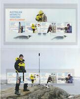 Australian Antarctic Territory 2021 : Arts Fellowship - Stamp pack.