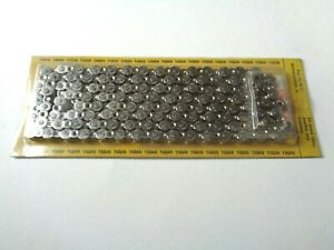 "*NOS Vintage YABAN 'Wind Tunnel' 1/2"" x 3/32"" 8 speed bicycle 116 link chain*"