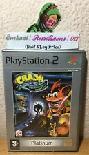 """CRASH BANDICOOT : LA VENGANZA DE CORTEX"" PLATINUM PAL ESPAÑA (COMPLETO) PS2"