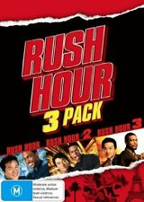 Rush Hour 3 Pack - Rush Hour  / Rush Hour 02  / Rush Hour 03 (DVD, 2008)region 4