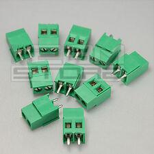 10 pz morsetti 2 poli H=15,2 Morsettiera PCB circuito stampato - ART. AZ03