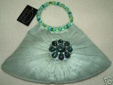 liz soto handbags  green silk handbag $94.99-NWT
