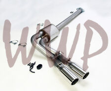 Stainless Single Pre-Axle Exit 3