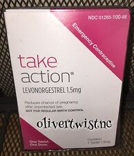 Take Action One Step Generic Plan B Emergency Contraceptive Pill 2020 Fast Ship