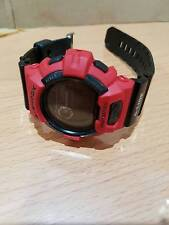 Vintage G-shock GWX-8900B Red-Black Multi6 Solar Moon&tide Graph Negative Screen