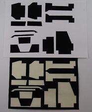 POCHER 1:8 PORSCHE k31 en velours Set Noir Neuf ORIGINAL Assemblage B a7