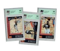 Zion Williamson 2019 Panini Instant 3 Rookie Card Lot #79, 87, & 91 - ALL PGI 10