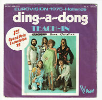 TEACH-IN Vinyl 45T DING-A-DONG - LET ME IN - VOGUE 12078 Eurovision 75 Hollande