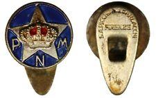 Distintivo con piedino Partito Nazionale Monarchico PNM con Smalti #C259