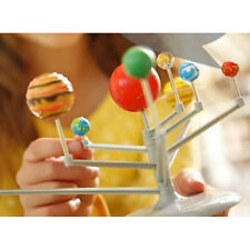 2017 bambini fai da te giocattoli educativi NINE PIANETI SCIENZA SISTEMA SOLARE