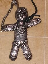 ALCHEMY GOTHIC VOODOO DOLL NECKLACE PEWTER