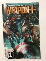 Marvel Comics Weapon Plus #1 A Cover 2019 1st Print NM