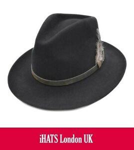 Fedora Hat for Men Women XS S M L XL Supreme Quality - iHATS London UK
