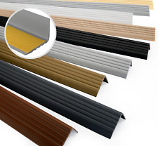 Treppenkantenprofil PVC Selbstklebend 40x25mm Kantenschutz 70-200cm Treppenkante