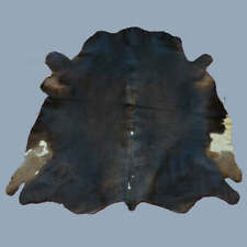 "New Cowhide Rug Cow hide Rug Area Rug Carpet Leather Rug (44"" x 44"")- K3"