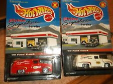 HOT WHEELS LIMITED/SPECIAL EDITION LOT OF 2 JIFFY LUBE 56 FORD TRUCK