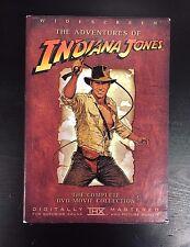 Indiana Jones Complete Movie Collection DVD Widescreen 2003 Lucasfilm Adventure