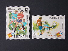 Spanish Stamps - 1981 World Cup Football Championships Spain In MNH Condition