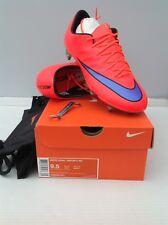 Nike MERCURIAL VAPOR X SG UK 8.5 BRIGHT CRIMSON/Viola