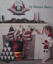 Quilt in a Day COUNTRY CHRISTMAS Pattern Booklet Stockings Door Bell Tree Skirt
